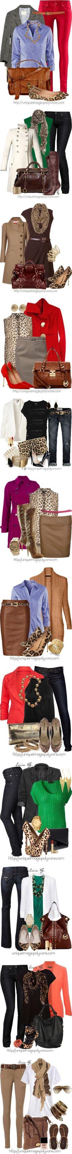 Work outfits. Wardrobe Renewal. Love it!