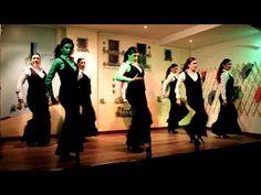 Algarabia Grupo de baile flamenco de la casa de Andalucia Nuestra señora del Rocio de Llodio.Día de Andalucia