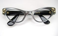 Womens Vintage 50s France Cat Eye Eyeglasses Frame -  I have this one too!