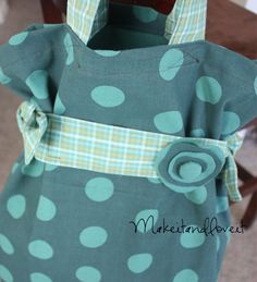 Tea Towel Tote Tutorial