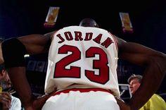 Yes, He is. Michael Jordan
