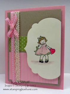 Greeting Card Kids Valentine