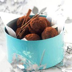 Truffes aux épices de Noël