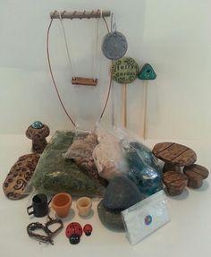 Premium Fairy Garden Making Kit by FairyGardenArts on Etsy