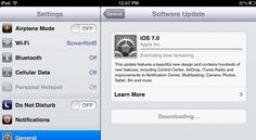 iOS 7 now available to download