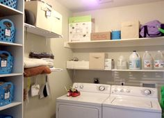 Dollar Store Laundry Room Organization Ideas!