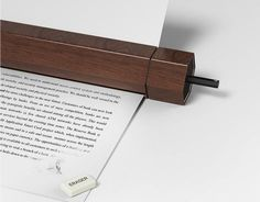 Always wanted to make those little changes to a document after printing it? Well, consider erasing, with pencil printer, you can!