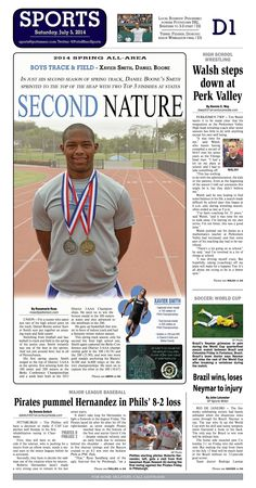 Daniel Boone's Xavier Smith was named the 2014 All Area Boys Track and Field Player of the Year. Read more at http://www.gametimepa.com/Sports/ci_26091757/BOYS-TRACK-amp;-FIELD:-Boones-Xavier-Smith-selected-AllArea-Athlete-of-the-Year