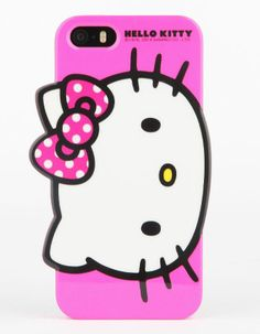 Brrring brring. It's the Hello Kitty iPhone cover! So cute!