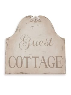 Guest Cottage wall art
