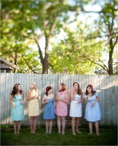 retro bridal shower ideas