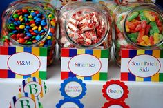 diy candy bar for favors?