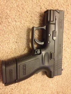 Springfield XD 9mm sub compact.