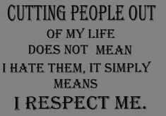 ~~ Always Respect YOURSELF FIRST~~