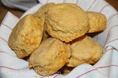 Sweet Potato Biscuits made with mashed, seasoned sweet potato.
