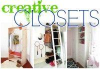 closet tips, storage spaces, closet makeovers, closet organization, creativ closet, closet storage organization, closet space, closet solutions, add closet