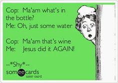 wine, funni ecard, ecards funny pills, hahahahaha, giggl, hilari, humor, bahahaha, funny ecards