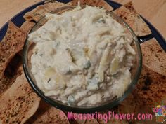 This stuff is ADDICTING--I'll whip it up (takes like 5 min.) and eat it just plain, lol--it's that tasty! Chunky Cheesy Jalapeño, Bacon, and Artichoke Dip
