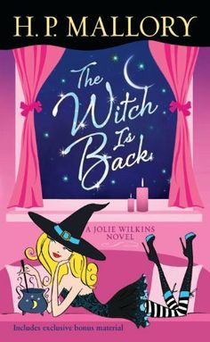 The Witch Is Back: A Jolie Wilkins Novel by H. P. Mallory, http://www.amazon.com/gp/product/0345531566/ref=cm_sw_r_pi_alp_BoJ2pb08RH6H5