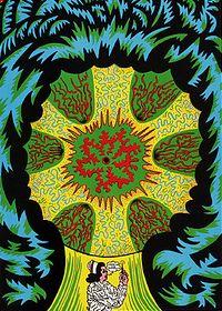 """""""Smoke"""" by Chicago artist Karl Wirsum."""