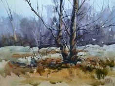 Painting Trees in Watercolour