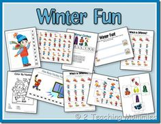 Free!! Winter Unit for k and 1st grade
