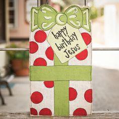 Glory Haus Happy Birthday Jesus Gift Burlee
