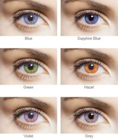 Novelty Contact Lenses  Choosing the Right Colors