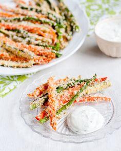 food recipes, veggi fri, appetizer recipes, baked veggies, veggie food, cooking tips, health foods, veggie fries, bake veggi
