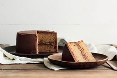Peanut Butter Chocolate Frosted Cake by pastryaffair, via Flickr