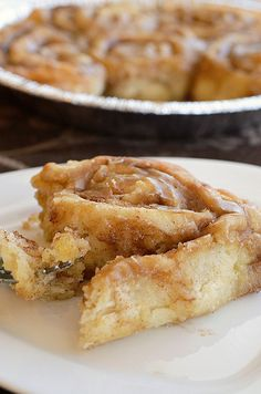 Maple Glazed Cinnamon Rolls... IF you look at the ingrediants (hint: Coffe) These sound so delicious!! ;P ~Gamer411