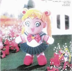 Sailor Moon Costume Sewing Pattern - pincoloring