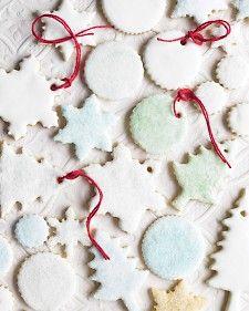 Citrus Sugar Cookies - Martha Stewart Recipes holiday, christmas parties, citrus sugar, ornament, decorated cookies, christmas sugar cookies, food processor, cooki recip, cookie recipes