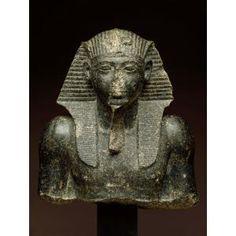 Head and upper torso of Seti I, Egyptian, New Kingdom, 1303-1200 BC, Dallas Museum of Art,