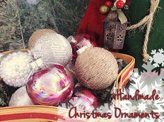 #DIY Ornaments