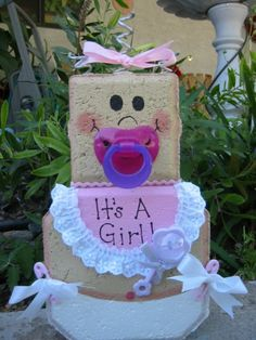 Baby Girl Patio Person Personalized Baby by SunburstOutdoorDecor, $22.00