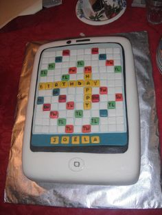 Words with friends cake!!
