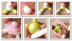 Manualidades para compartir: SAPO PEPE Y SAPA PEPA de porcelana fría lapiceros