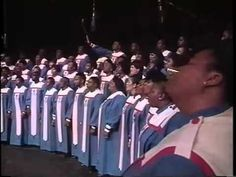 rev James Moore with mississippi mass choir Yahwey