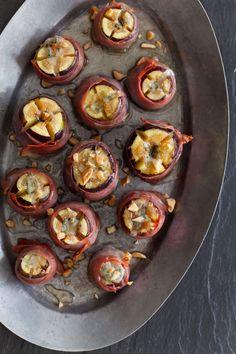 Bleu Cheese Stuffed Figs | Appetizer recipe | Spoon Fork Bacon