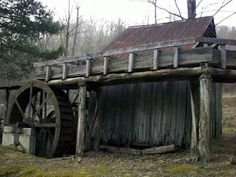 Side view of Dellinger Mill