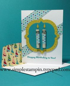 Cycle Celebration Money Birthday Card - Stampin' Up!