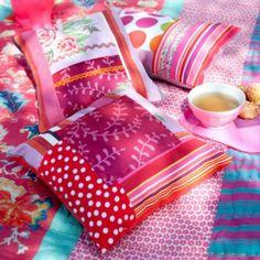 Magnifiques coussins patchwork Gipsy