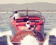 Classic boating indeed!