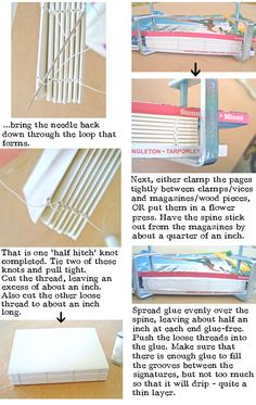 book binding tutorial'