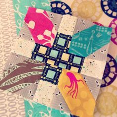 + and x quilt block