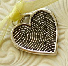the fingerprint of one you love. cute
