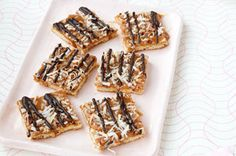 Caramel-Chocolate Cookie Bars recipe
