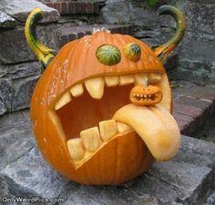 awesome pumpkin