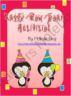 Happy New Year product from SassyTeacher75 on TeachersNotebook.com